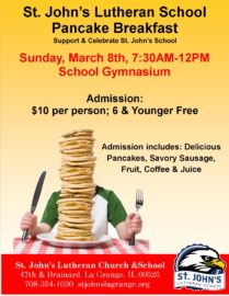 St. John's Pancake Breakfast